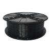 Gembird 3D nyomtatószál (izzószál) PETG, 1,75 mm, 1 kg, fekete