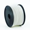 Gembird ABS / Fehér / 1,75mm / 1kg filament