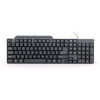 Gembird compact multimedia keyboard KB-UM-104; USB ; US layout; black