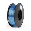 Gembird Filament Gembird POLYMER GLOSSY Silk Blue ; 1;75mm ; 1kg