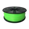 Gembird Filament Gembird TPE FLEXIBLE Green ; 1;75mm ; 1kg