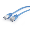 Gembird FTP kat.5e RJ45 patch kábel; 0.5m; kék