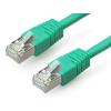 Gembird FTP kat.6 RJ45 patch kábel  1m  zöld