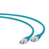 Gembird FTP LSZH kat.6A RJ45 patch kábel; 5m; green