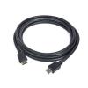 Gembird HDMI V2.0 apa-apa kábel aranyozott csatlakozóval 10m; bulk csomagolás