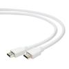 Gembird HDMI V2.0 apa-apa kábel aranyozott csatlakozóval; 1m; bulk csomagolás