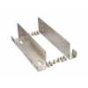 Gembird metal mounting frame for 4 x 2.5'' HDD/SSD to 3.5'' bay