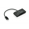 Gembird Micro USB card reader for mobile phones/tablets