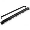 Gembird NPP-C524CM-001 19'' 24-portos 1U Cat5e patch panel