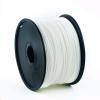 Gembird Press string (izzószál) ABS, 1,75 mm, 1 kg fehér