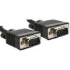 Gembird VGA HD15m/HD15m kettős árnyékolású w/2*ferritmag 3m kábel