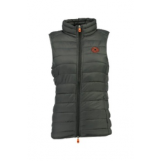 Geographical Norway , Vaynight bélelt mellény zsebekkel, Sötétszürke, 2 (VAYNIGHT-LADY-BASIC-056-DARK GREY-2)