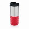 Geometrikus kávéspohár, piros