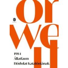 George Orwell 1984 - Állatfarm - Hódolat Katalóniának irodalom