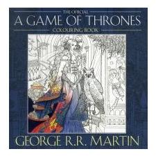 George R. R. Martin The Official A Game Of Thrones idegen nyelvű könyv
