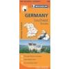 GERMANY SOUTHEAST, BAVARIA TÉRKÉP 2013 (546)
