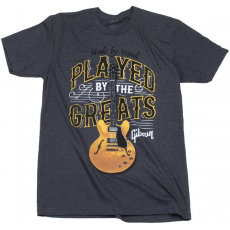 Gibson Played By The Greats T Charcoal XL