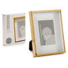 Gift Decor Fényképkeret Alumínium Arany (3 x 20 x 15 cm) (10 x 15 cm)