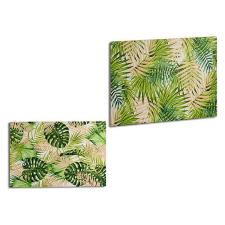 Gift Decor Vászon Gift Decor Zöld (120 x 80 x 2,5 cm) dekoráció