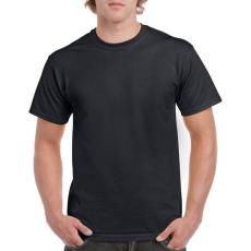GILDAN 5000 kereknyakú póló fekete színben