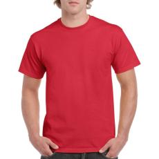 GILDAN 5000 kereknyakú póló red színben