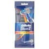 Gillette Blue II Plus Chromium Eldobható Férfi Borotva, 5 db
