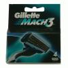 Gillette Mach3 borotva betét 4 db-os