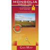 Gizimap Mongólia általános földrajzi térképe