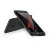 GKK Apple iPhone 7 hátlap - GKK 360 Full Protection 3in1 - Logo - fekete