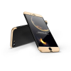 GKK Apple iPhone 8 hátlap - GKK 360 Full Protection 3in1 - fekete/arany