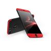 GKK Apple iPhone 8 Plus hátlap - GKK 360 Full Protection 3in1 - Logo - fekete/piros