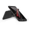 GKK Apple iPhone X hátlap - GKK 360 Full Protection 3in1 - fekete