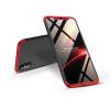 GKK Apple iPhone X/XS hátlap - GKK 360 Full Protection 3in1 - fekete/piros
