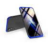 GKK Apple iPhone XR hátlap - GKK 360 Full Protection 3in1 - fekete/kék