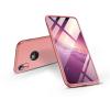 GKK Apple iPhone XR hátlap - GKK 360 Full Protection 3in1 - Logo - rose gold