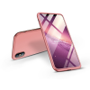 GKK Apple iPhone XS Max hátlap - GKK 360 Full Protection 3in1 - rose gold