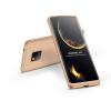 GKK Huawei Mate 20 Pro hátlap - GKK 360 Full Protection 3in1 - arany