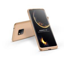 GKK Huawei Mate 20 Pro hátlap - GKK 360 Full Protection 3in1 - arany tok és táska