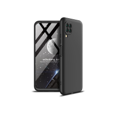 GKK Huawei P40 Lite hátlap - GKK 360 Full Protection 3in1 - fekete tok és táska