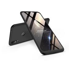 GKK Huawei Y7 (2019)/Y7 Prime (2019) hátlap - GKK 360 Full Protection 3in1 - fekete tok és táska