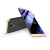 GKK Samsung A600F Galaxy A6 (2018) hátlap - GKK 360 Full Protection 3in1 - fekete/arany