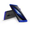 GKK Samsung G965F Galaxy S9 Plus hátlap - GKK 360 Full Protection 3in1 - fekete/kék