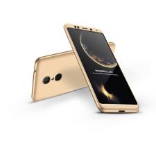 GKK Xiaomi Redmi 5 Plus hátlap - GKK 360 Full Protection 3in1 - arany tok és táska