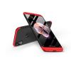 GKK Xiaomi Redmi Note 5/Note 5 Pro hátlap - GKK 360 Full Protection 3in1 - fekete/piros