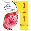 GLADE by Brise One Touch Mini Spray Zamatos Cseresznye és Bazsarózsa légfrissítő utántöltő 3 x 10 ml
