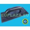 Glettelő, műanyag, fekete, 270 x 130 mm