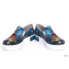 Goby VN4201 slip on platform sneakers