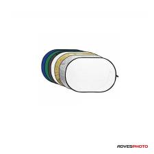 Godox Derítőlap 7in1 120x180 cm (arany, ezüst, fekete, fehér, féligáteresztő, kék, zöld) derítőlap