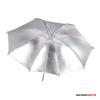 """Godox ezüst reflex ernyő, fekete külsövel 101cm (40"""")"""