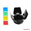 Godox fényterelő, színszűrők és méhsejt BD-03